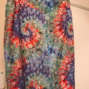 LuLaRoe Cassie Skirt -Colorful  2XL